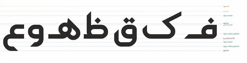 G Aseman3 min فونت فارسی آسمان ( G Aseman )