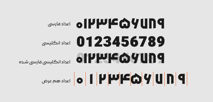 Morabba3 min فونت فارسی مربع ( Morabba )